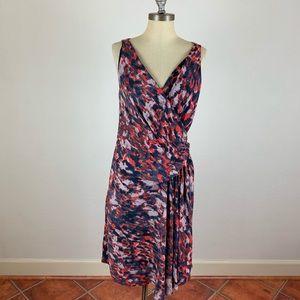 Rachel Roy Water Color Tiered Dress